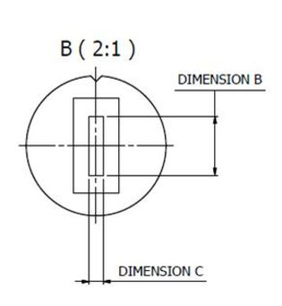 FOP series fibre optic cable dimensions monochromator interface