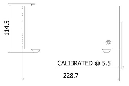 CL7 Dimensions Calibration Standards - Side View