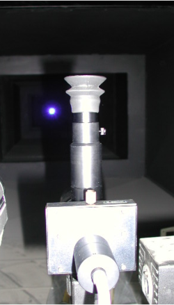 Radiant Intensity Measurement via Telescope