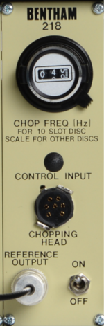 418M Optical Chopper & Control Module