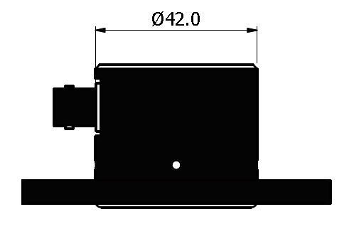 Si_CAL Calibration Standard Dimensions - Side View